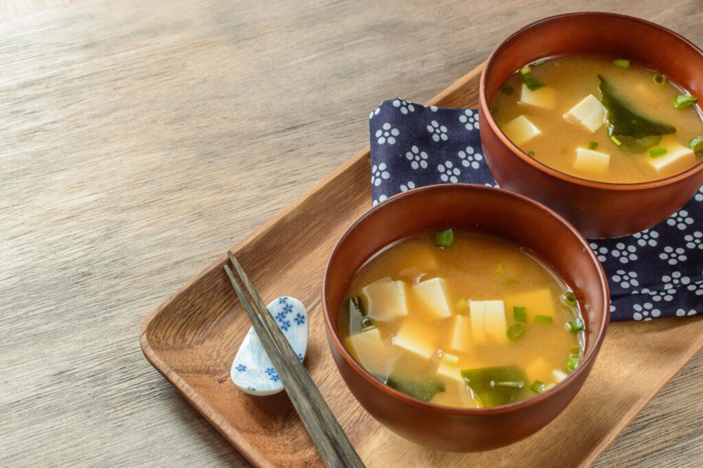 味噌汁,発酵食品