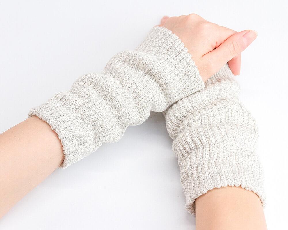 京都 絹糸屋さんの薄手シルクマルチウォーマー